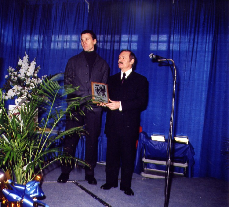 13th annual Sports Wall of Fame Induction Ceremony - Tim Lefebvre Athlete Cycling (image/jpeg)