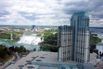 (Thumbnail) Aerial View of the Lower Niagara River, the American Falls and the Niagara Fallsview Casino Resort (image/jpeg)