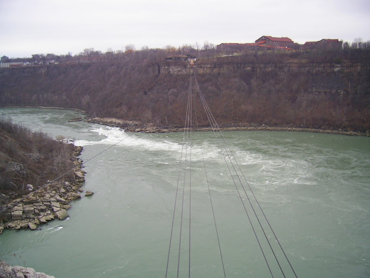 Spanish Aerocar Wires Over the Whirlpool; Great Wolf Lodge in the background (image/jpeg)