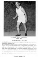 (Thumbnail) Niagara Falls Sports Wall of Fame - Herbert (Pops) Wiltshire 1895-1992 Long Distance Runner (image/jpeg)