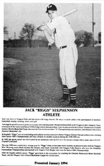 (Thumbnail) Niagara Falls Sports Wall of Fame - Jack (Riggs) Stephenson Athlete era 1931 - 1950 (image/jpeg)