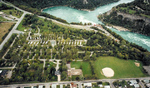 (Thumbnail) Aerial View of a Campground Across from Niagara Helicopters (image/jpeg)