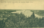 (Thumbnail) Niagara River, Queenston and Lewiston, From Queenston Heights, Ontario (image/jpeg)