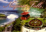 (Thumbnail) Aerial view of the Canadian Falls, the Spanish Aerocar and the Ontario Hydro Floral Clock (image/jpeg)