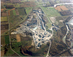 (Thumbnail) Aerial view of Walker Bros [Brothers] Quarries Thorold Townline (image/jpeg)