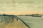 (Thumbnail) Harbor and piers Port Maitland Ont [Ontario] Dunnville's lakeside resort (image/jpeg)