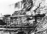 (Thumbnail) Excavation for the Ontario Power Company plant at Niagara Falls - Horseshoe Falls in background (image/jpeg)