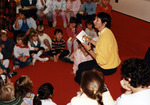 (Thumbnail) Author, Helen Levchuk visits the Children's Department of the Victoria Avenue Library (image/jpeg)