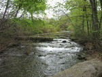 (Thumbnail) Babbling brook at Dufferin Islands (image/jpeg)