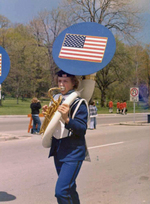 (Thumbnail) Blossom Festival Parade - participant in a marching band (image/jpeg)
