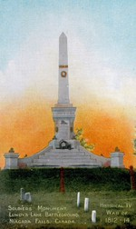 (Thumbnail) Soldiers Monument [Battle of] Lundy's Lane Niagara Falls at  Drummond Hill Cemetery (image/jpeg)