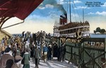 (Thumbnail) Troops leaving [by S S Cayuga] at Niagara-on-the-Lake for the front (image/jpeg)