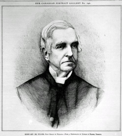 Right Reverend Doctor Thomas Brock Fuller, First Bishop of Niagara (image/jpeg)