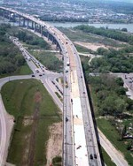 (Thumbnail) Aerial view of road repair on the Garden City Skyway St. Catharines Ontario (image/jpeg)