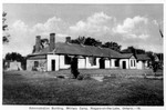 (Thumbnail) Administration building Military Camp [Camp Niagara] Niagara-on-the-Lake Ontario (image/jpeg)