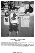 (Thumbnail) Niagara Falls Sports Wall of Fame - Michael Y A Strange Athlete Boxing (image/jpeg)