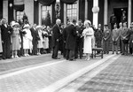 (Thumbnail) 1939 Royal Tour - King George VI & Queen Elizabeth to Niagara Falls - Dignitaries being Presented (image/jpeg)