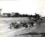 (Thumbnail) Elevating grader drawn by horses and mules - Welland Canal (image/jpeg)