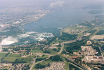 (Thumbnail) Aerial View of the Upper Niagara River & Rapids, and the International Control Dam (image/jpeg)