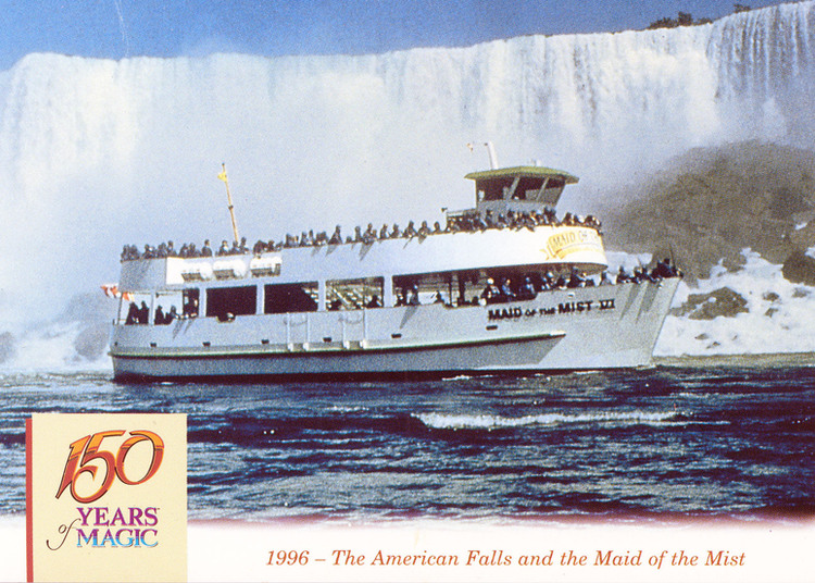 1996 - The American Falls and the Maid of the Mist (image/jpeg)