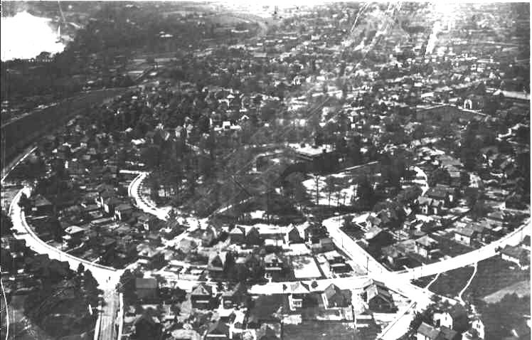 Aerial View of Niagara Falls (Epworth Circle, Ryerson Crescent, NFVCI) (image/jpeg)