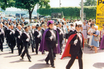 (Thumbnail) Fraternal order of the Knights of Columbus marching in Queen Victoria Park Niagara Falls (image/jpeg)