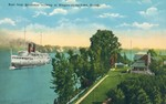 (Thumbnail) Boat from Queenston arriving at Niagara-on-the-Lake Canada (image/jpeg)