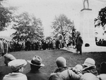 (Thumbnail) Memorial Service in Queen Victoria Park at Soldier's Monument (image/jpeg)