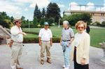 (Thumbnail) Former President Jimmy Carter and his wife Rosalynn visit the Floral Clock (image/jpeg)