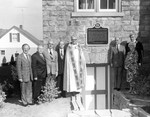 (Thumbnail) Dedication and unveiling of historical plaque at Queenston Baptist Church (image/jpeg)