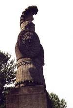 (Thumbnail) Queenston Heights - close up view base of Brock's monument - tribute to Sir Isaac Brock (image/jpeg)