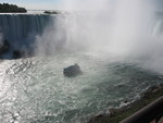 (Thumbnail) Maid of the Mist at the base of the Horseshoe Falls (image/jpeg)