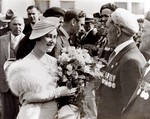(Thumbnail) 1939 Royal Tour - Earl Ross being presented to King George VI, Queen Elizabeth &amp;  MacKenzie King (image/jpeg)