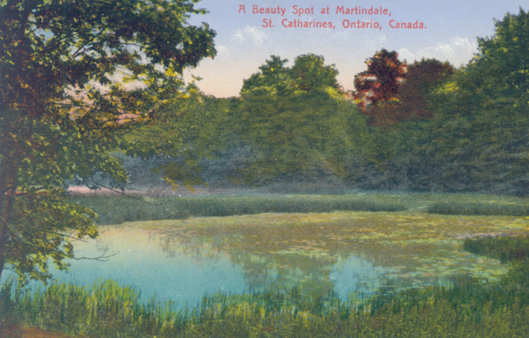 A beauty spot at Martindale St Catharines Ontario Canada (image/jpeg)