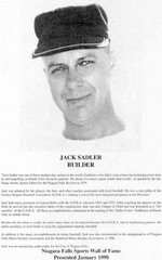 (Thumbnail) Niagara Falls Sports Wall of Fame - Jack Sadler Builder Baseball era 1951 - 1970 (image/jpeg)