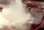 (Thumbnail) Aerial view of the Horseshoe Falls and Table Rock - Niagara Falls Ontario (image/jpeg)