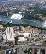 (Thumbnail) Aerial view of the City of Niagara Falls from a helicopter (image/jpeg)