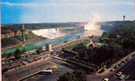 (Thumbnail) An aerial view of both the American & Horseshoe Falls, ca 1966 (image/jpeg)