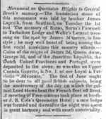 (Thumbnail) A Newspaper Ad relating to Queenston Heights - Queenston, Ontario (image/jpeg)