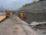 (Thumbnail) Niagara Tunnel Project - Concrete is sprayed to create a trench. (image/jpeg)