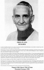 (Thumbnail) Niagara Falls Sports Wall of Fame - Fred Plato Builder Baseball Curling era 1951 - 1970 (image/jpeg)