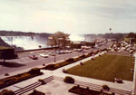 (Thumbnail) Oakes Garden Theatre with the American and Horseshoe Falls and Minolta Tower in background (image/jpeg)