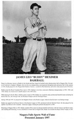 (Thumbnail) Niagara Falls Sports Wall of Fame - James Leo (Buddy) Heximer Baseball era 1931 - 1950 (image/jpeg)