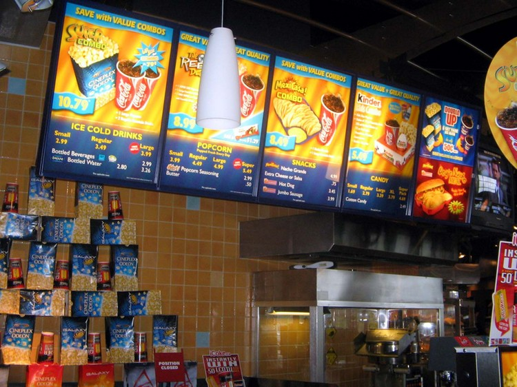 Odeon Cinema Food And Drink Prices