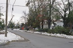 (Thumbnail) Aftermath of Fort Erie Snowstorm, October 12, 2006 - looking south east toward intersection of Bertie St. (foreground) &amp; Central Ave. (image/jpeg)