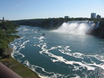(Thumbnail) Lower Niagara River with the American Falls (image/jpeg)