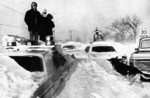 (Thumbnail) Blizzard of 77 - buried cars including a police car (image/jpeg)