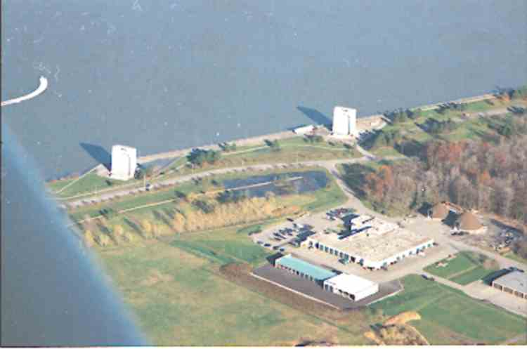 An aerial view of Hydro's Intake Gates, by the upper Niagara River (image/jpeg)