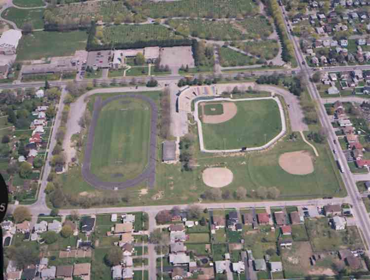 Aerial View of Oakes Park (image/jpeg)