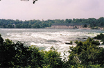 (Thumbnail) Canadian Niagara Generating Station, and the Brink of the Horseshoe Falls from Goat Island (image/jpeg)